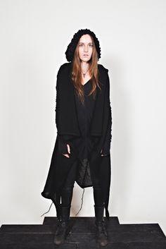 Merino Wool vest. Sisters of the Black Moon.