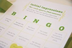 A Bingo-themed wedding provides plenty of scope and fun to be had in both the wedding planning and your actual wedding day! Wedding Bingo, Bridal Shower Bingo, Wedding Wishes, Reception Games, Wedding Stuff, Wedding Day, Future Love, Wedding Activities, May Weddings