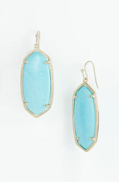 Kendra Scott 'Elle' Small Oval Earrings via @Nordstrom #wedding