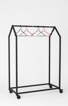 Clothing House, Clothes Rack  by Ola Giertz