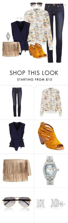 """""""Sin título #905"""" by macelu ❤ liked on Polyvore featuring Tory Burch, New Look, Mantù, Corso Como, B-Low the Belt, Cartier and Gucci"""