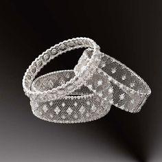 Gianmaria Buccellati Honeycomb Cuff bracelets