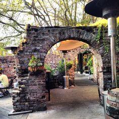 Brick arch (Blind Tiger Pub, Charleston, SC   iowagirleats.com)