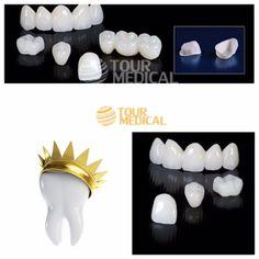 U vindt uw tanden niet meer mooi ? Of u heeft een ongelukje gehad, of is er sprake van slijtage en is er een tand beschadigd ? Dan kunt u ervoor kiezen om uw gebit esthetisch fraaier te maken door het nemen van zirkonium kronen. Onze Cosmetische Tandarts zal u adviseren bij het kiezen van de kleur en de vorm van uw kroon of uw brug http://www.tourmedical.nl/detail-zirkonium-kronen_26.html