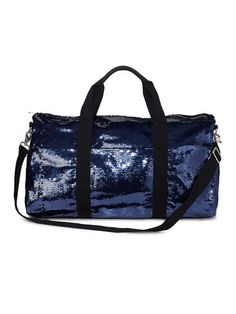 6a476dae412 Victoria s Secret PINK Bling Duffle Bag - black sequin. I know it s wrong,  but