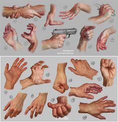 Hand Study by Irys Ching