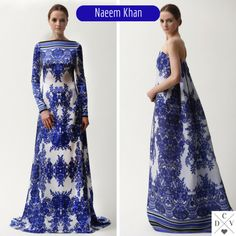 Naeem Khan prints from Pre-fall 2015 collection!