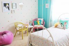 ROOM MAKE OVER - how I changed my little girls bedroom on a budget
