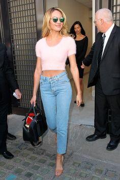 Las famosas aman los jeans a la cintura