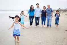 Beach Family Portrait Session #miramarpark #familyportraits #andreatakeokaphotography