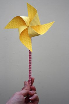 cute pinwheel pencil topper