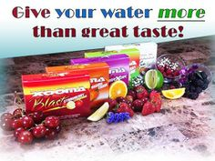 """Now you can transform your water with a """"blast"""" of flavor while you provide powerful antioxidant protection for your entire body. So, forget those high-calorie sugary drinks or flavored beverages filled with artificial sweeteners, colors & other chemicals. Xooma BLAST is the perfect alternative, where you can enjoy a guilt-free, great tasting, natural beverage. Makes great Popsicles too!   Cherry Lime, Coconut Crush, GrapeXcape, Orange Crave, and Strawberry Lemonade…"""