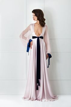 Morganite   Sapphire Detail Robe. White LingerieBeautiful LingerieSatin  SleepwearNightwearDesigner ... cbaf0c85e