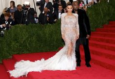 Kim Kardashian Donned Beyonce's Old Dress to the Met Gala