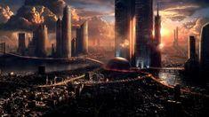 Fondos De Pantalla Ciudades Futuristas Para Protector De Pantalla 8 HD Wallpapers