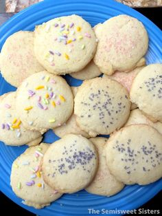 Sugar Cookies Made with Oil Dairy Free