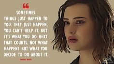 The Best 13 Reasons Why Quotes - MagicalQuote - - Based on the 2007 young adult novel written by Jay Asher, 13 Reasons Why is an American television series (adapted for Netflix by Brian.