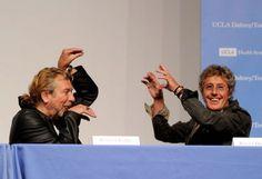 Robert Plant & Roger Daltrey || I love them both so flipping much.
