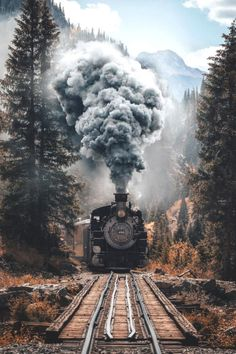 lsleofskye: This Durango to Silverton train is a piece of. - lsleofskye: This Durango to Silverton train is a piece of… - Amazing Photography, Landscape Photography, Nature Photography, Photography Backdrops, Photography Tutorials, Photography Jobs, Photography Lighting, Photography Classes, Portrait Photography