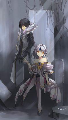 Tags: Anime, Swd3e2, Elsword, Code: Empress, Raven (Elsword), Eve (Elsword), Blade Master (Raven)