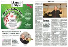 Pioneer and Trailblazer of Singapore's Music Scene: An interview with Mr Lee Yuk Chuan, a conductor, composer and musician  Get the Dec 2016 issue at Kinokuniya Bookstores today!  SG Site: http://epochtimes.today/  Global Site: http://www.theepochtimes.com/