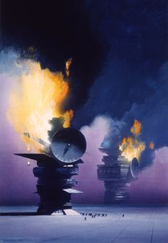 JOHN HARRIS - art for The Best of TREK® #16 edit Walter Irwin & G. B. Love - 1991 Roc / New American Library
