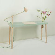 Resin tables by Roel Huisman