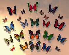 Butterflies of modeling clay - Hledat Googlem