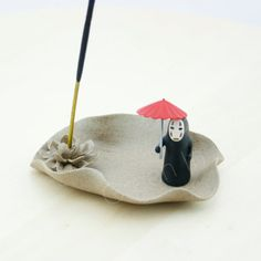 spirited away/ Incense burner/ miniature/ by GreenInHK on Etsy