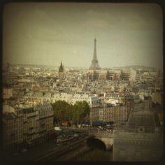 Paris - retro styled photography by Elisabeth Perotin