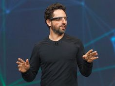 Sergey Brin: Put Out 'Giant Bonfire Of Bipartisanship' Google Glass, Wearable Technology, New Technology, Wearable Device, Google Co, Audio, Facial Recognition, Augmented Reality, Movie Theater