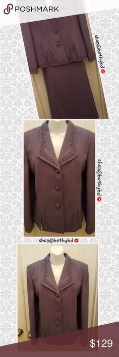 bfcbf0be92013 🆕️John Meyer Sz14 Long Skirt Suit w Sequin detail 🆕️JUST ADDED➡️John