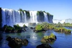 Iguazu-Falls, Iguazu National Park, Brazil and Argentina Iguazu National Park, National Parks, Iguazu Waterfalls, Iguazu Falls, Argentina Travel, South America Travel, Vacation Places, Tourist Places, Adventure Awaits
