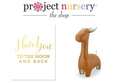 Enter to win these two nursery decor items from the #PNshop from @hellobee! #giveaway