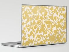 earth-gold-laptop on Outblush    http://society6.com/garimadhawan/Earth-gold-5Lu_Laptop-Skin
