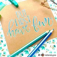 Don't be shy to use your colour pencils on paper that's not white! Loving this blend of colours on kraft by @lettersbypie! . . . . . #LLletteringGO #LLlikepudding #pencils #colourpencil #moderncalligraphy #itslikepudding #pencil #colourpencil #handlettering #calligraphy #letteringleague #lettering #typography #doodle #graphics #illustration #letteringleague #pencilcalligraphy #pencillettering