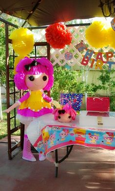 "Photo 3 of 10: Lalaloopsy inspired / Birthday ""Lalaloopsy 3rd Birthday Party!"""