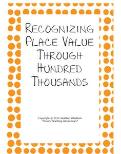 Seven FREE Math Worksheets: Place Value, Money, Rounding, Measurement, and a Mixed Review!