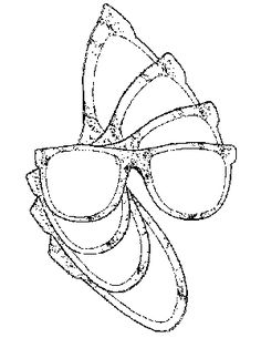 Eyeglasses Coloring Pages Quilts