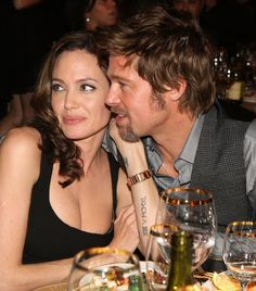 """Brad Pitt about Angelina Jolie. And then I realized one thing: """"The woman is the reflection of her man"""" Brad Pitt Brad And Angelina, Brad Pitt And Angelina Jolie, Jolie Pitt, Shiloh Jolie, Celebrity Couples, Celebrity News, Celebrity Gossip, Brad Pitt Divorce, Brad And Angie"""
