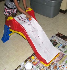 Not really for T's bday, but my kids would be ALL about this idea!  this could keep them busy for hours!