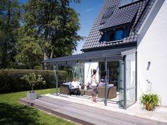 terrasse garten holz dielenboden outdoor küche überdachung, Garten und Bauen