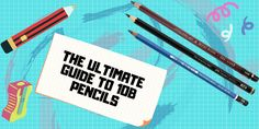 The-Ultimate Guide-to-10B-Pencils Kokuyo Camlin, Types Of Pencils, Wooden Pencils, Japanese Stationery, Pencil Writing, Pencil Sharpener, Marker Pen, Mechanical Pencils, How To Find Out