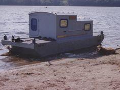 shanty boats   Retreat built by John Lawler,