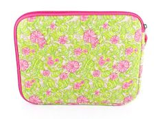 To get in style & ready for new leaf try this pretty Pad Sleeve! Change out the old with this fresh stylish protection protector for your Mac technology, or other Kindle, Nook, or Sony that fits!! Amazon.com: Lilly Pulitzer iPad & Netbook Sleeve - Chum Bucket: Computers & Accessories