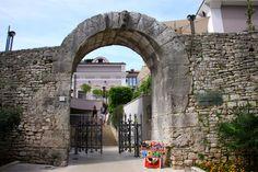 Gate of Hercules (Porta Herculanea) - Pula, Croatia