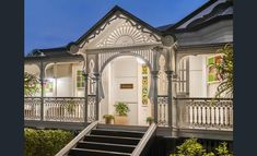 133 Bonney Ave, Clayfield, Qld View property details and sold price of 133 Bonney Ave & other properties in Clayfield, Qld Queenslander House, Large Open Plan Kitchens, New Farm, Houses Of Parliament, 1930s House, Home Reno, My Dream Home, Dream Homes, Exterior Design