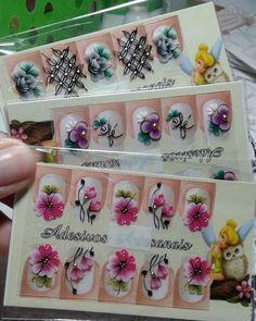 Nenhuma descrição de foto disponível. Nail Art, Nail Stickers, White Nail Beds, Nail Designs, Nail Jewels, Nail Arts, Nail Manicure, Creativity, Nail Art Designs