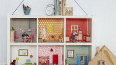 Ikea hack: van open kast naar poppenhuis
