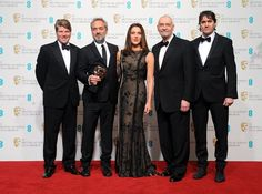 Sam Mendes and the Skyfall team at the BAFTAs The Baftas, Sam Mendes, British Academy Film Awards, Skyfall, Red Carpet, Concert, Movie Posters, Pictures, Fashion